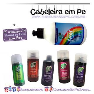 Low Poo - Novas Cores Máscaras Pigmentantes e Creme Diluidor Kamaleão Color (Azulão, Guará, Louva Deus, Pantera e Melro)