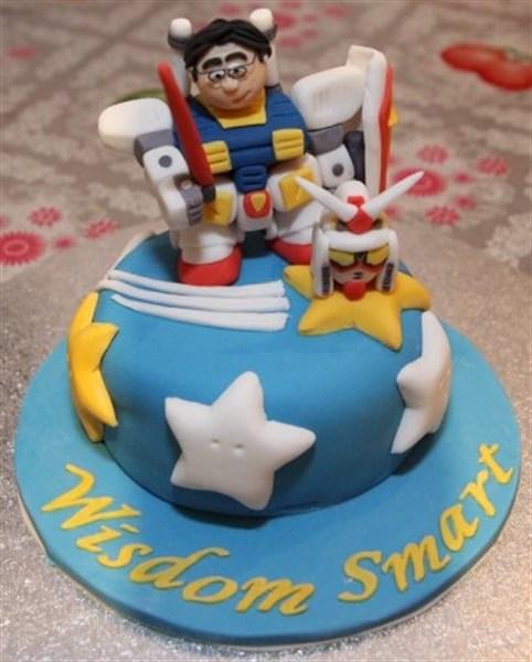 Sub Zero Birthday Cake