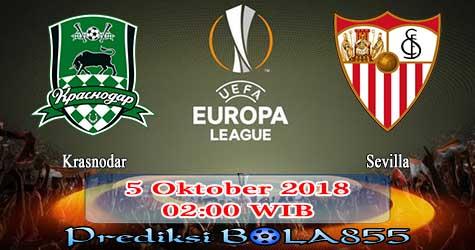 Prediksi Bola855 Krasnodar vs Sevilla 5 Oktober 2018