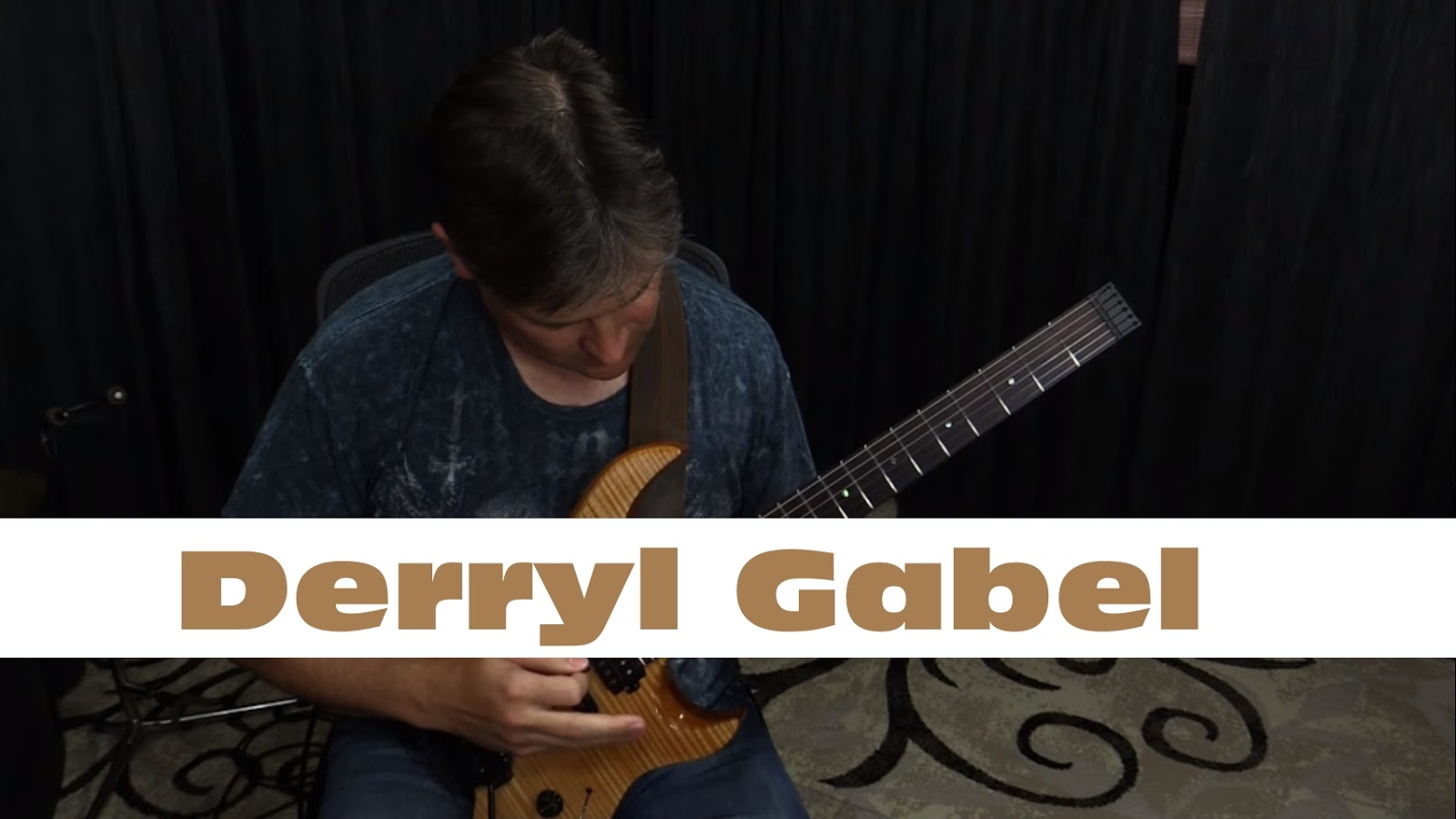 Derryl Gabel: Allan Holdsworth The Drums Were Yellow Solo