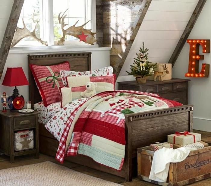 dormitorios infantiles decorados en navidad dormitorios
