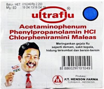 Harga Ultraflu Obat Batuk dan Pilek Flu Terbaru 2017