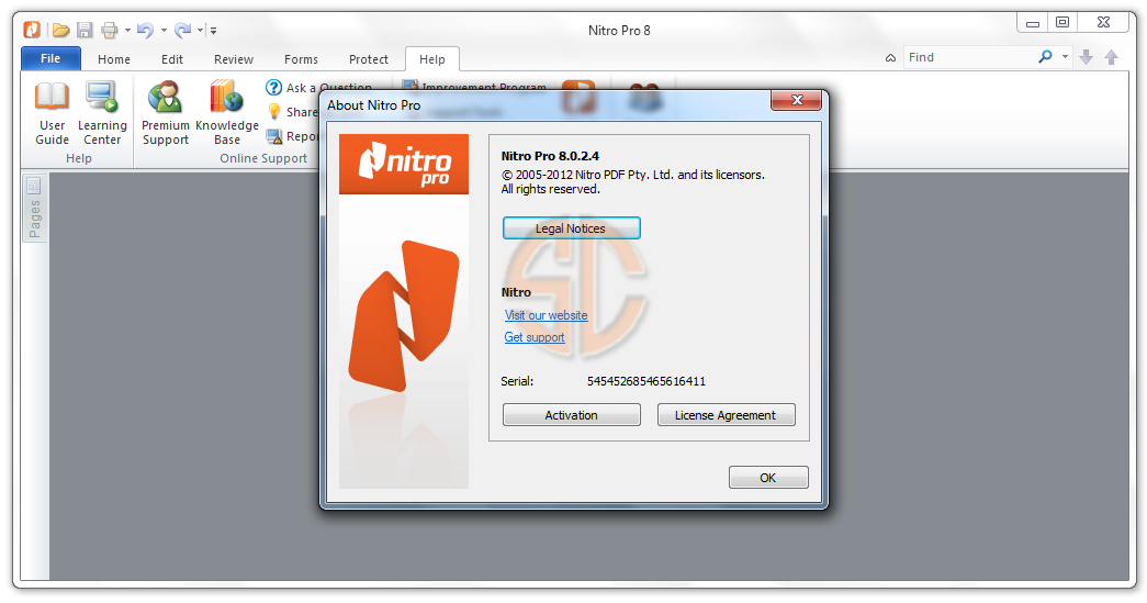 free download nitro pro 8 full version with crack