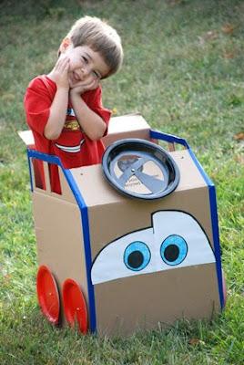 Lightning McQueen cardboard Cars