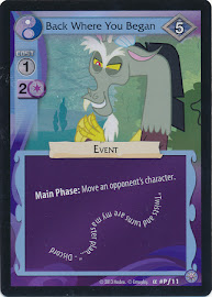 MLP Back Where You Began Premiere CCG Card