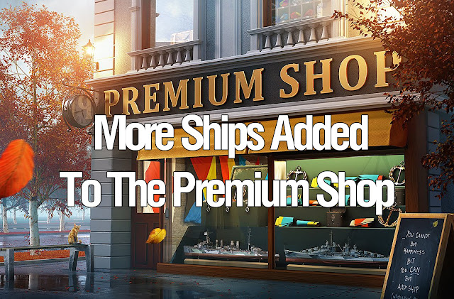 World of Warships Premium Shop