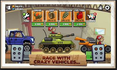 Download Hill Climb Racing 2 (MOD, unlimited money) free on android games