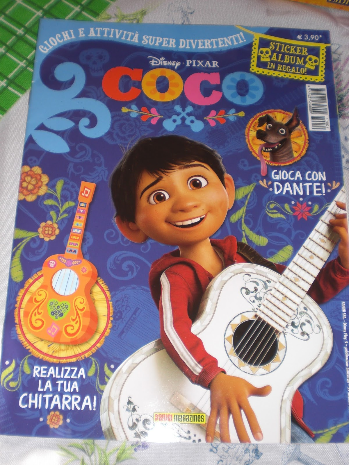 I grandi capolavori disney pixar dvd coco dvd in edicola