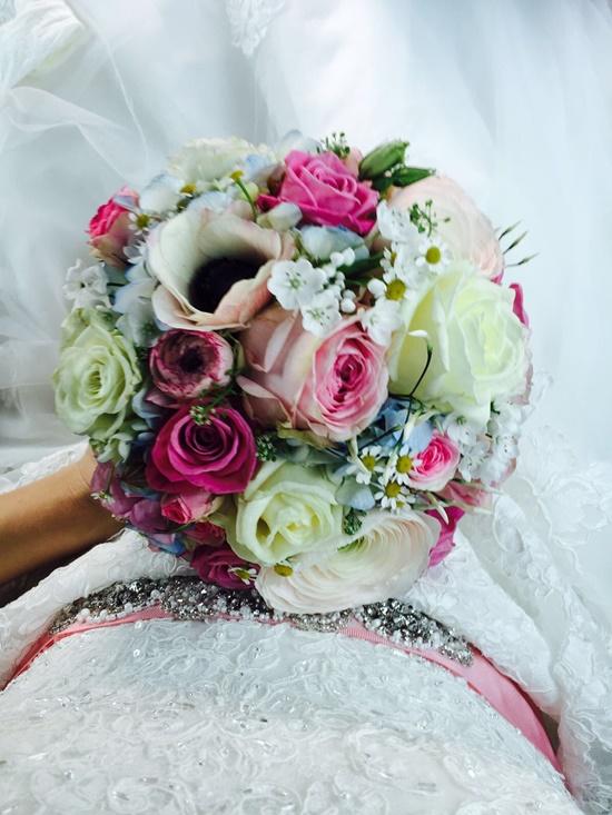 Hochzeit Deko Strauß