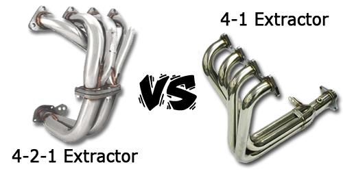 4-1 vs 4-2-1 Header(Extractor) | Zhapalang Motorsport