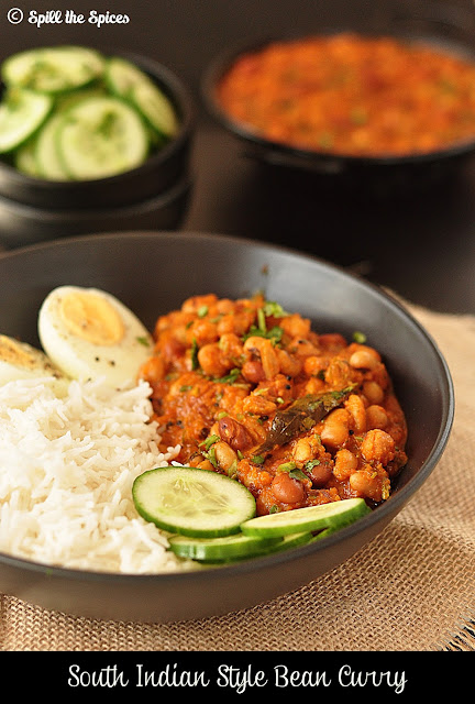 South Indian Style Five Bean Curry