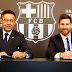Messi firmó la renovación con el Barça hasta 2021