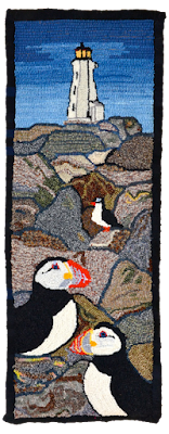 Atlantic Puffins - Rose Kandy