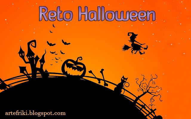 Reto Halloween de Arte Friki