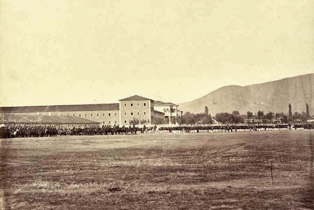 Bitola formation of Ottoman troops October 1863