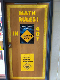 Middle School Math Rules!: A few new photos and a couple ...