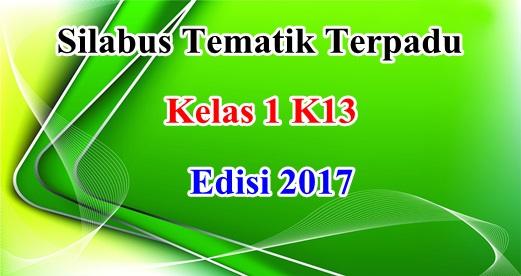 Silabus Tematik Terpadu Kelas 1 Terbaru 2017