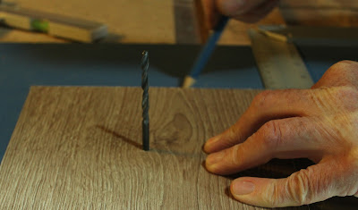 Preparing the components for the homemade router table