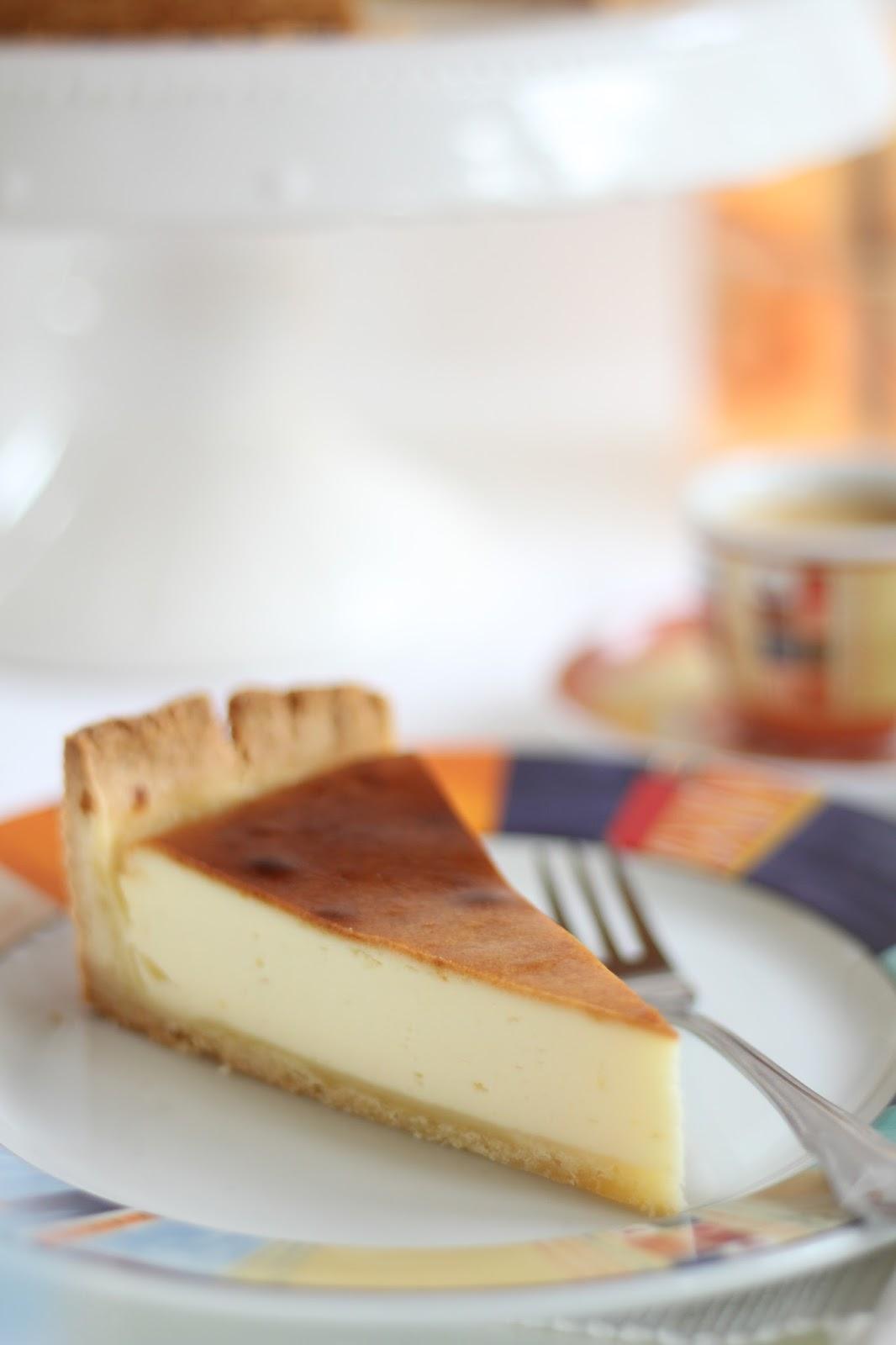Klassischer Käsekuchen mit Mürbeteig - Rezept