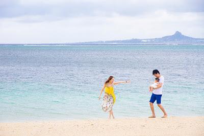 沖縄ハーフバースデーフォト海