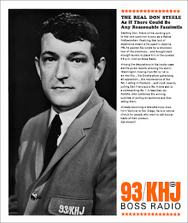The Real Don Steele 1965 KHJ Sales Sheet