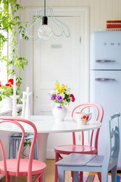 Narrow Dining Room Table Ideas 4