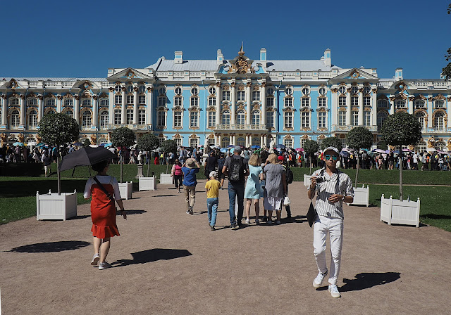 Царское Село – Екатерининский дворец (Tsarskoye Selo - Catherine Palace)
