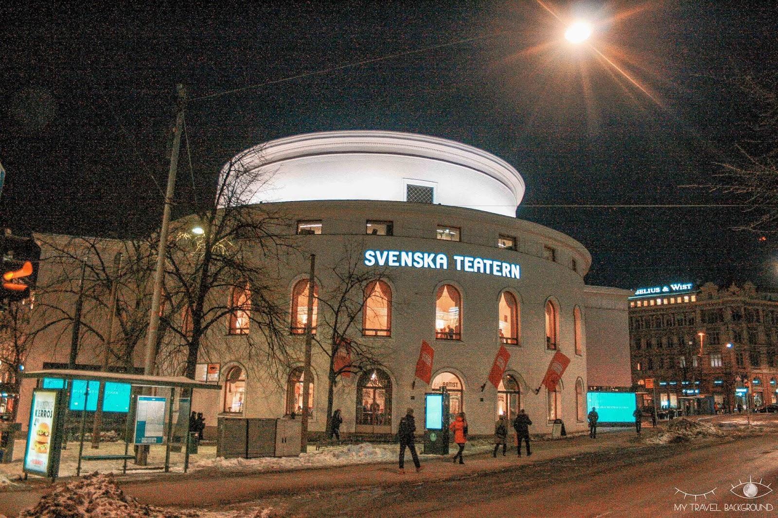 My Travel Background : 2 jours pour découvrir Helsinki, la capitale de la Finlande - Théâtre suédois