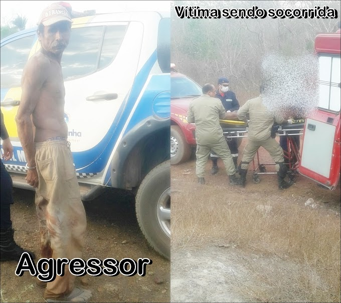 Pai agride filho a golpes de faca na zona rural de Chapadinha