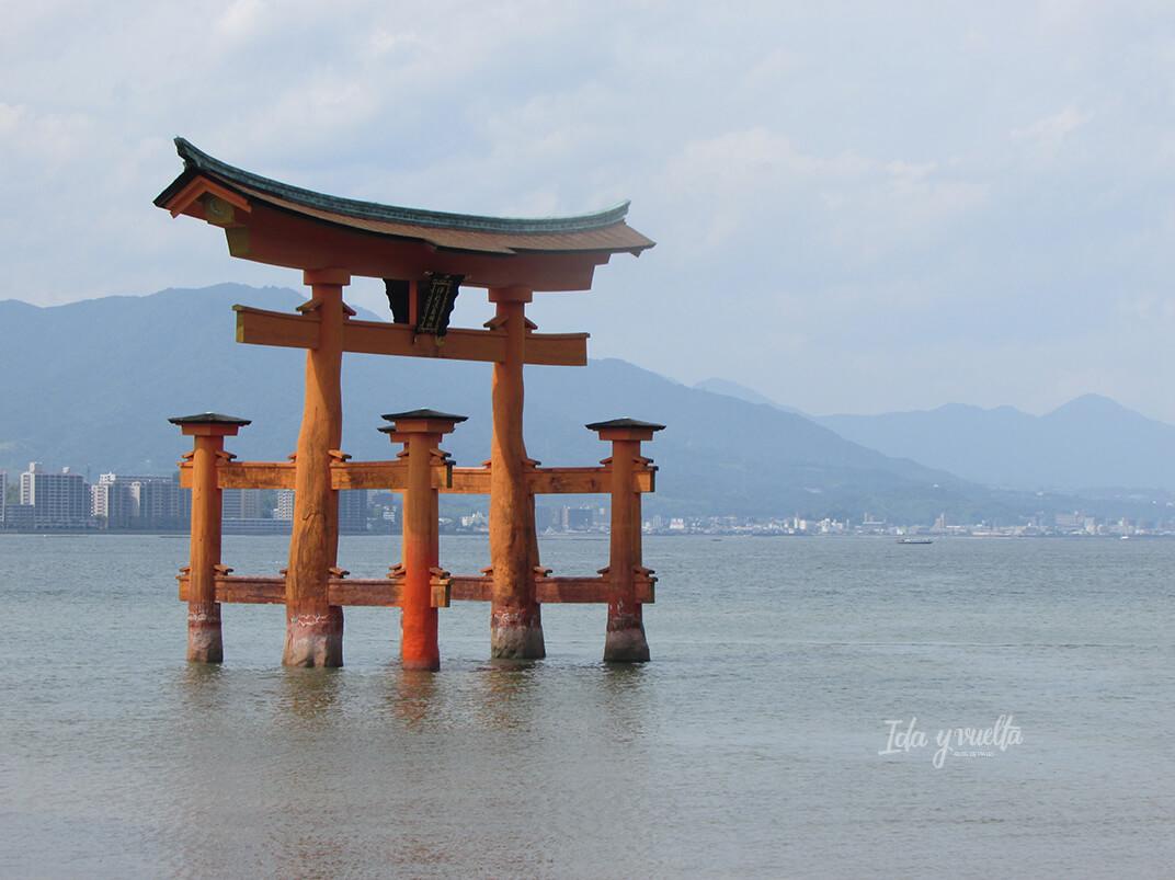 Gran Torii en Miyajima