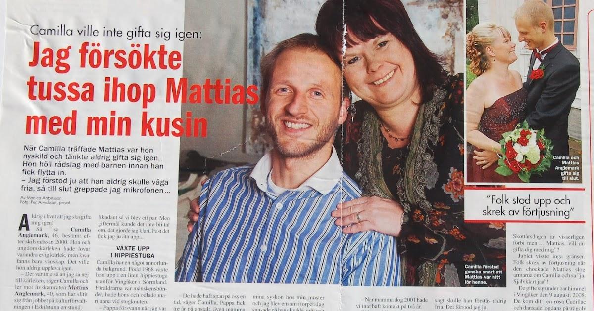 8e08045b6ce Magiska möten i veckopressen....: Camilla Anglemark ville inte gifta sig  igen.