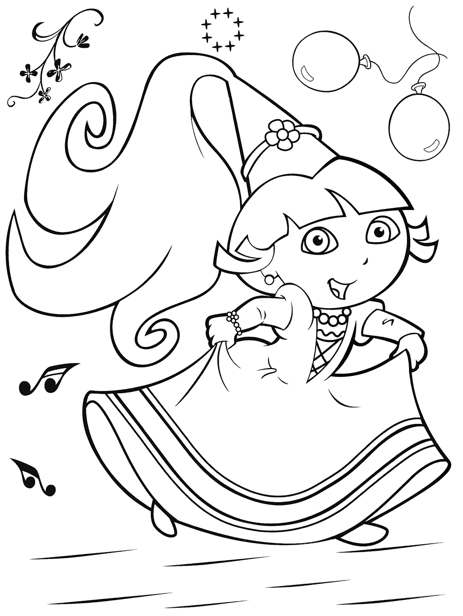 Dora The Explorer Coloring Pages A Bunch Of Sweet Coloring Pages
