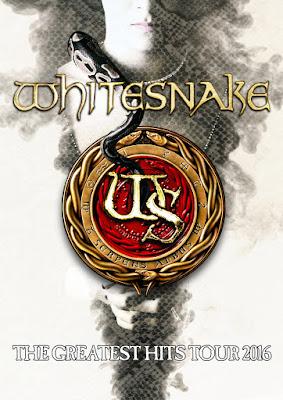 Whitesnake - Greatest Hits - Tour - 2016