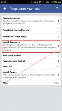 keamanan akun facebook