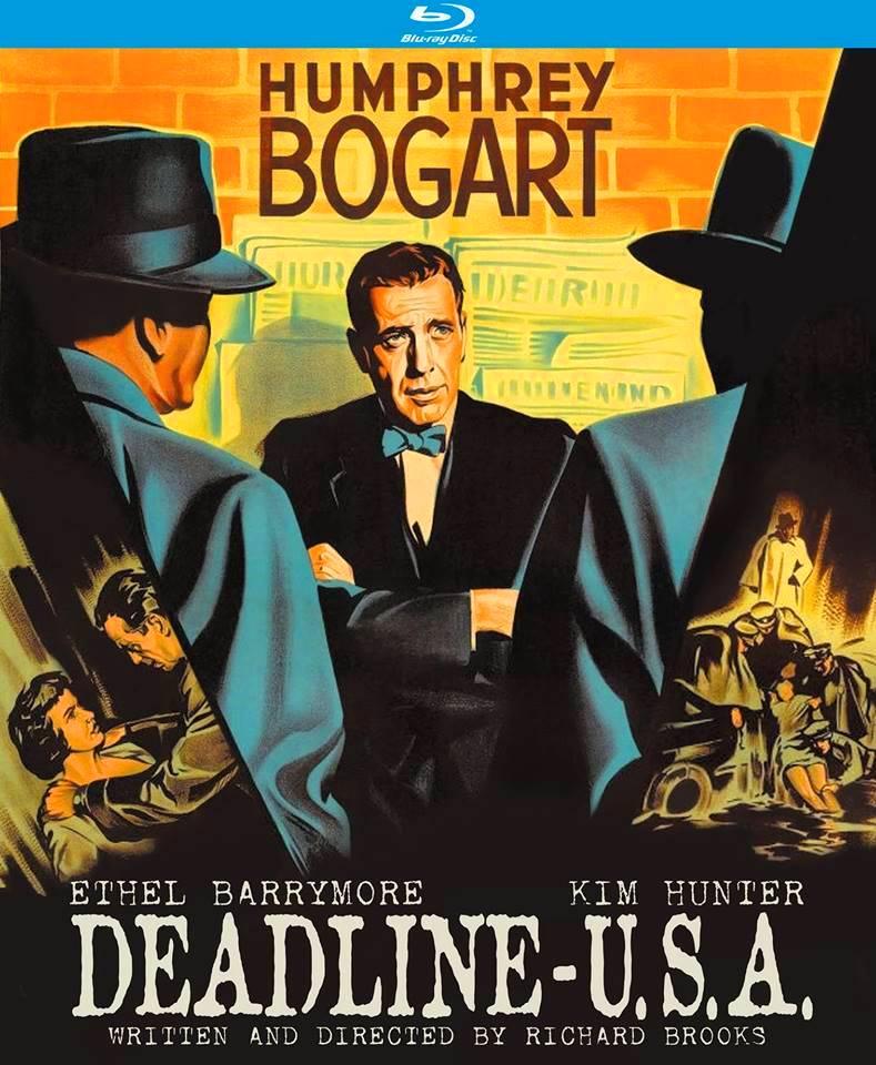 DEADLINE U S A : Blu-ray (2oth Century-Fox 1952) Kino Lorber