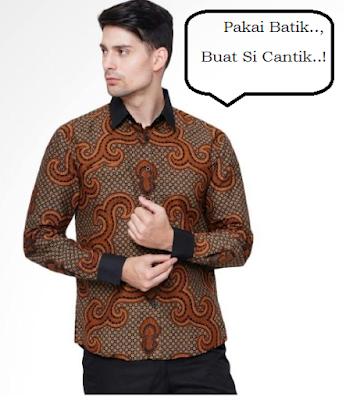 Model baju batik pria gaul