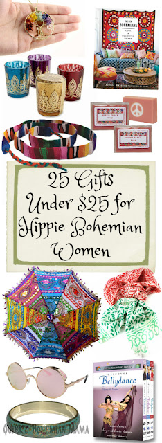 Quirky bohemian mama frugal bohemian lifestyle blog 25 Ideas for womens christmas gifts under 25