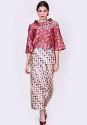 Model Baju Batik Untuk Kondangan