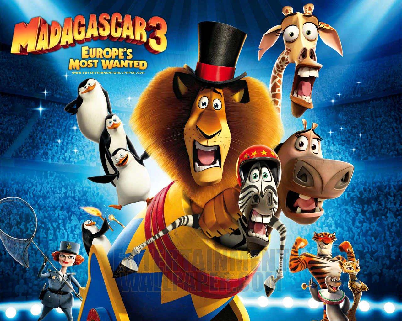 Lomeoystz Madagascar 3 Europe S Most Wanted 2012 Animation Movies Full Movie