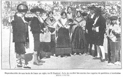 UNA BODA EN CASTILLA - 1924 El Espinar.
