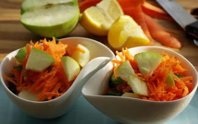 Elmalı Havuç Salatası