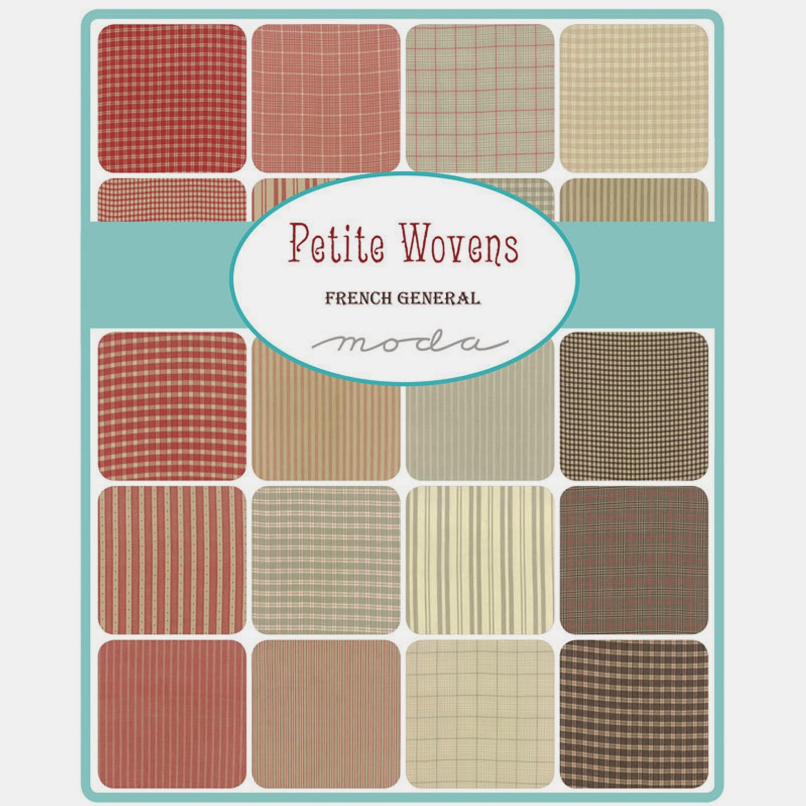 Moda PETITE WOVENS Fabric by French General for Moda Fabrics