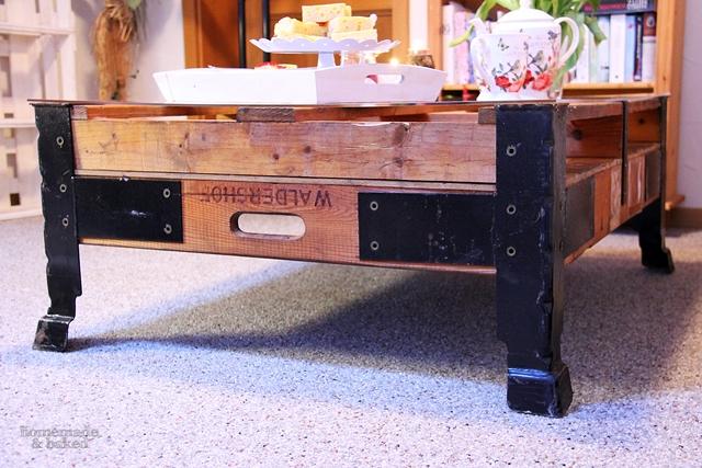 homemade and baked food blog werbung mein neuer tisch. Black Bedroom Furniture Sets. Home Design Ideas