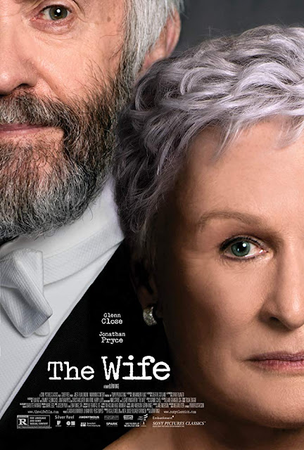 The Wife 2018 movie poster Glenn Close Jonathan Pryce