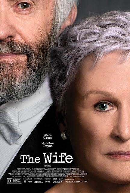 The Wife 2018 movie poster Glenn Close Jonathan Pryce