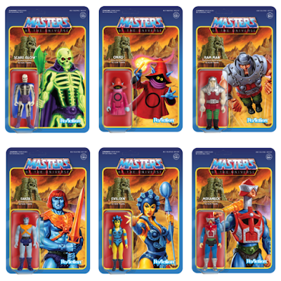He-Man and the Masters of the Universe ReAction Retro Action Figures Wave 4 by Super7