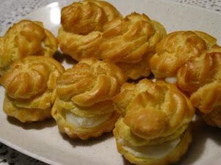 Cara Membuat Resep Kue Sus Basah Isi Ragout Vla Lembut Enak Irit Telur Sederhana Praktis