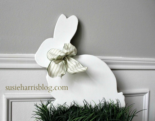reputable site f6679 a6471 Susie Harris DIY Easter Bunny