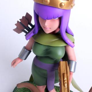 biaya dan waktu upgrade archer queen