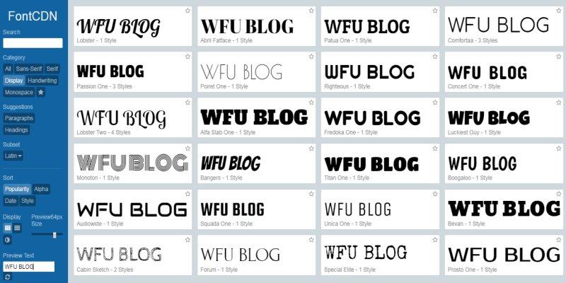 如何使用 CDN 免費網頁字型﹍簡單快速沒有侵權麻煩
